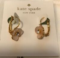 kate spade new york Disco Pansy Leverbacks Earrings