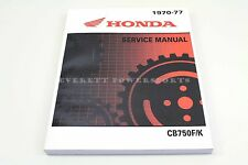 New Service Shop Repair Manual 1969-1978 CB750K SOHC CB750 F Honda Book (R) #L23