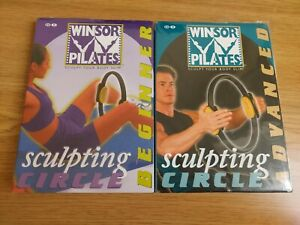 Winsor Pilates - Sculpting Circle - Beginner & Advanced- 2 DVD NEW SEALED