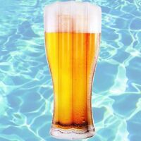 Inflatable Pool Float Giant Pint of Beer Jumbo Air Lounge Blow Up Pool Toy