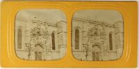 Amiens Cattedrale Francia Foto Stereo PL54L4n Diorama Vintage Albumina c1870