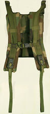 US Military MOLLE II Shoulder Straps w/ QUICK RELEASE Padded WOODLAND MINT
