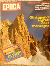 EPOCA 1138 1972 Leo Ferrè scappa via - segreti montagna