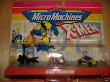X-MEN *MICROMACHINES* 3 VEHICLE SET