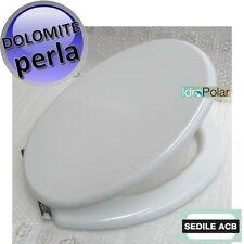 NUOVO SEDILE WC PERLA CERAMICA DOLOMITE ACB ERCOS Linea SMART BAGNO COPERCHIO WC