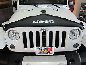 2007-2018 Jeep Wrangler JK Hood Cover Front End Bra Protector Kit Mopar OEM