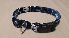 "16.5 - 26.5"" New Adjustable Dog Collar XL X-Large Star Wars Fabric Handmade"