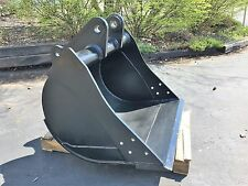 "New 36"" Backhoe Bucket for a John Deere 310C with Pins - No Teeth"
