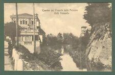 Veneto. TREVISO dal Piazzale della Ferrovia. Caffè Passuello. Cartolina d'epoca