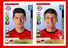 FIFA 365 2015-16 PANINI 2016 -Figurina Stiker- n. 489/490 - BAYERN MUNCHEN -New