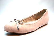 Rockport Adiprene Tied Ballet Pink Suede Ballet Bow Flats Women's Size 7.5 W