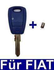 Schlüssel Rohling Gehäuse für FIAT Punto Doblo Bravo Marea Stilo +1xMikro Taster