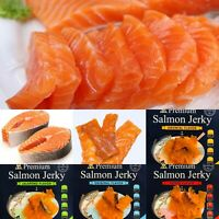 PREMIUM CANADIAN SALMON JERKY  ORIGINAL FLAVOR  -  ALL NATURAL PRODUCT.