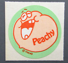Vintage TREND Matte Scratch and Sniff Stinky Stickers - PEACH