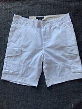 """Tommy Hilfiger Shorts Cargo WHITE Men's Size 32"""" Lightweights"""