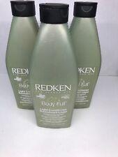 3x Redken Body Full Light Conditioner 8.5 Fl Oz,