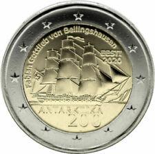 2 Euros Estonia 🇪🇪 2020. Descubrimiento de la Antártida. Envío YA