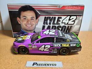 2018 Kyle Larson #42 McDonald's Halloween CGR Chevrolet 1:24 NASCAR Action MIB