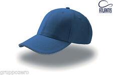 Cappello Italia Nazionale Cappellino Scudo tricolore Calcio Sport Royal Atlantis