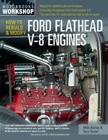 How to Rebuild & Modify Ford Flathead V-8 Engines Book by Vern Tardel ~SCTA~NEW!