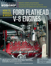 How to Rebuild & Modify Ford Flathead V-8 Engines Book by Vern Tardel~SCTA~NEW!
