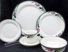 Lenox MIDNIGHT BLOSSOMS 6 Piece Place Setting GREAT VALUE mfg second