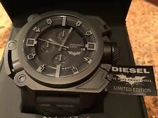DIESEL BATMAN DARK KNIGHT RISES LIMITED EDITION WATCH #0823/5000 NEW IN BOX