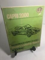 CAPRI 1971 2000 Haynes Auto Repair Manual USA On; 1600 UK 1972-1974 L XL GT RARE