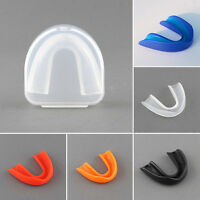 Sports Mouth Guard Grinding Teeth Protect For Boxing Basketball 5 Colors