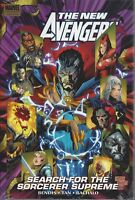 New Avengers HC Search For The Sorcerer Supreme Premiere Edition NEW OOP