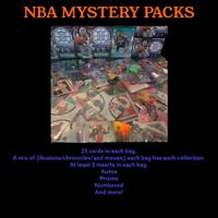 NBA BASKETBALL CARDS LOT MYSTERY PACKS HOT PACK🔥1-2 HITS A PACK REPACK JA/ZION?