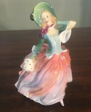 """Royal Doulton Figurine Autumn Breezes  HN 1911   7-1/2"""" tall Great Condition"""