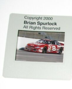 Original Dale Earnhardt Jr Racing Photo Positive Film Slide Copyright Transfer