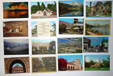 LOT OF 30 CALIFORNIA CA POSTCARDS HOLLYWOOD SAN DIEGO SILVER MOON FOLSOM LAKE