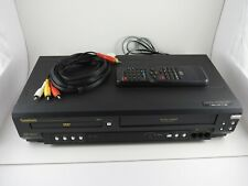 New ListingSymphonic Sd7S3 Dvd Vcr Combo Vhs Player Recorder With Remote & Rca Cable Tested