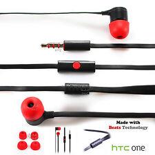 Genuine HTC One M9 M8 M7 Headphones Earphones With Beats Technology Mini  Desire