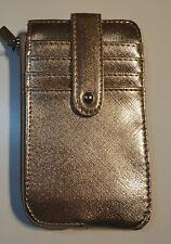 Rebecca Metallic Gold Card Wallet money clutch