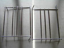 BELLING CLASSIC DOUBLE EXTRA ELECTRIC COOKER OVEN CHROME SIDE RAILS FOR SHELVES