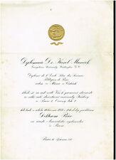 URKUNDE: DIPLOMACIE GEORGETOWN UNIVERSITY WASHINGTON D.C., 1931