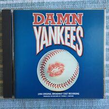 CD Damn Yankees 1994 Original Broadway Cast Recording