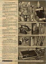 1970 ADVERTISEMENT Lighter Butane Pocket Ronson Zippo Pipe Bently Nimrod Gulton