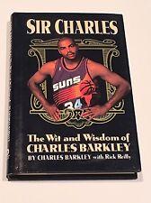 CHARLES BARKLEY SIGNED & #34 Sir Charles 1994 BOOK