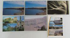 Postkarten Lot aus LITAUEN 6 Ansichtskarten Topographie Motive Postcards unused