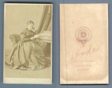 Orde, Holywood, à identifier vintage CDV albumen carte de visite, CDV, tirage
