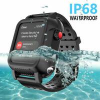 IP68 Waterproof Case Shockproof Cover for Apple Watch Series 4 3 38/42/40/44mm