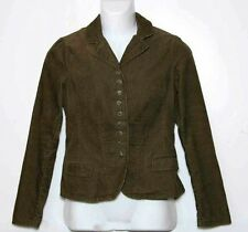 Women's Ralph Lauren Corduroy Jacket Brown Medium