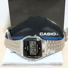 Casio Vintage Retro Digital Watch A159WAD-1 Japan Made Alarm natural diamonds