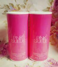 (2) Avon Pink Suede Shimmering Body Powder 1.4 oz. each. * NEW & SEALED *