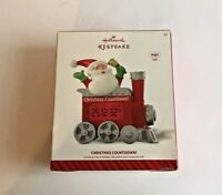 Christmas Countdown! Santa Hallmark Keepsake Ornament Magic Light New Never Used
