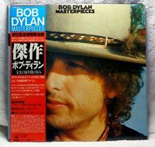 Bob Dylan Masterpieces 3 LP Set Japan Import obi, poster book record 33 rpm